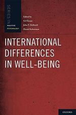 International Differences in Well-being - Ed Diener