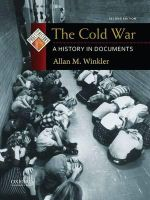The Cold War : A History in Documents - 2nd Edition - Allan M. Winkler