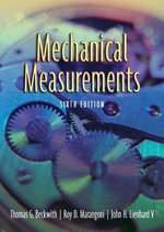 Mechanical Measurements :  Japan, Russia, Ukraine, and Belarus - Thomas G. Beckwith