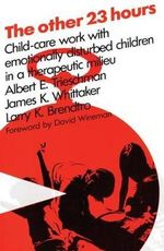 The Other 23 Hours : Child Care Work with Emotionally Disturbed Children in a Therapeutic Milieu - Albert E. Trieschman
