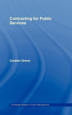 Contracting for Public Services - Carsten Greve