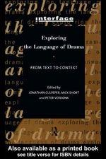 Exploring the Language of Drama : From Text to Context