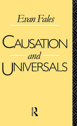 Causation and Universals - Evan Fales