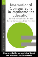 International Comparisons in Mathematics Education - Gabriele Kaiser