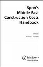 Spon's Middle East Construction Costs Handbook - Franklin Andrews