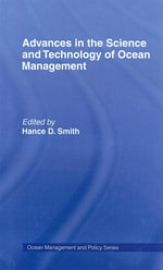 Advances in the Science and Technology of Ocean Management - Hance D. Smith
