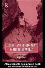 Ecology and Development in the Third World - Avijit Gupta