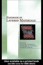 Handbook of Layered Materials - Scott M. Auerbach