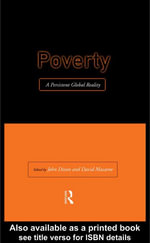 Poverty : A Persistent Global Reality