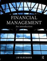 Financial Management : An Introduction - Jim McMenamin