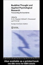 Buddhist Thought and Applied Psychological Research : Transcending the Boundaries - D.K. Nauriyal