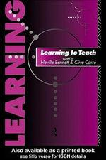 Learning to Teach - Neville Bennett