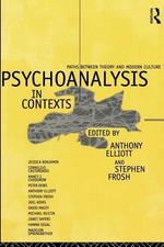 Psychoanalysis in Context : Paths Between Theory and Modern Culture