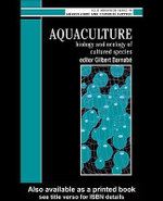 Aquaculture : Biology and Ecology of Cultured Species - Gilbert Barnabe