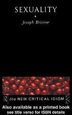 Sexuality - Joseph Bristow