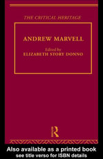 Andrew Marvell : The Critical Heritage