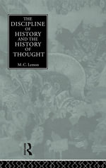 Discipline of History and the History of Thought - M.C. Lemon