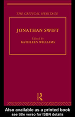 Jonathan Swift : The Critical Heritage