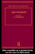 Count Lev Nikolaevich Tolstoy