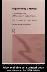 Engendering a Nation : A Feminist Account of Shakespeare's English Histories - Jean E. Howard