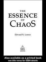 Essence of Chaos - E. Lorenz