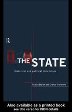 The State : Historical and Political Dimensions