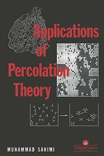 Applications Of Percolation Theory - M Sahini