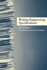 Writing Engineering Specifications - Paul Fitchett