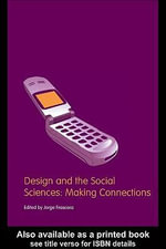 Design and the Social Sciences : Making Connections