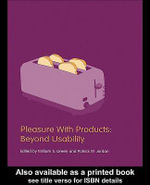 Pleasure With Products : Beyond Usability