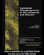 Epithelial Morphogenesis - Walter Birchmeier
