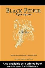 Black Pepper, Piper Nigram : Piper nigrum - P. N. Ravindran