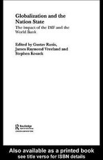 Globalization and the Nation State : The Impact of the IMF and the World Bank - Stephen Kosack