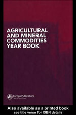 Agricultural and Mineral Commodities Year Book - Unknown