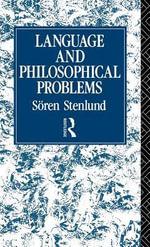 Language and Philosophical Problems - Soren Stenlund