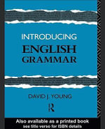 Introducing English Grammar - David J. Young