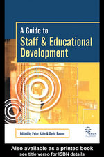 A Guide to Staff & Educational Development - David Baume