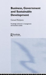 Business, Government and Sustainable Development - Gerard Keijzers