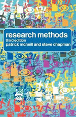 Research Methods - Patrick McNeill