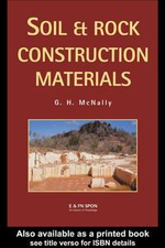 Soil and Rock Construction Materials - Greg McNally