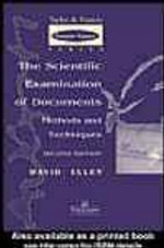 Scientific Examination of Documents - David Ellen