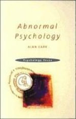 Abnormal Psychology - Alan, Dr Carr