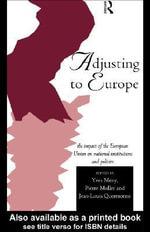Adjusting to Europe - Yves Meny
