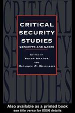 Critical Security Studies