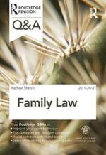 Q&A Family Law 2011-2012 - Rachael Stretch