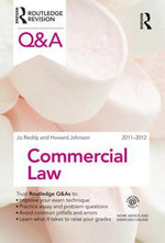 Q &A Commercial Law 2011-2012 - Jo Reddy