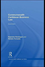 Commonwealth Caribbean Business Law - Rajendra Ramlogan