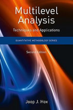 Multilevel Analysis : Techniques and Applications, Second Edition - J. J. Hox