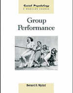 Group Performance - Bernard A. Nijstad