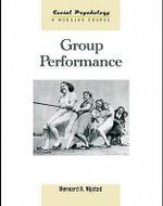 Group Performance - Bernard A. Nijstad